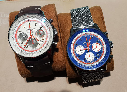 BREITLING NAVITIMER B01 Airline Edition PAN AM AB01212B1C1A1  - 6