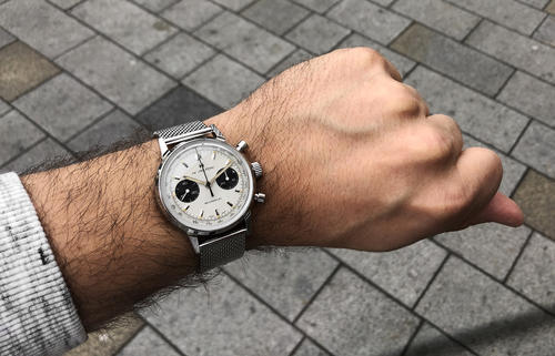 HAMILTON American Classic Intra-Matic Chronograph H H38429110  - 6
