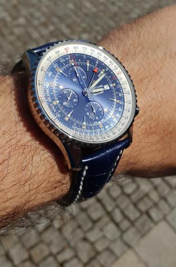 BREITLING NAVITIMER Chronograph GMT 46 A24322121C2A1  - 6