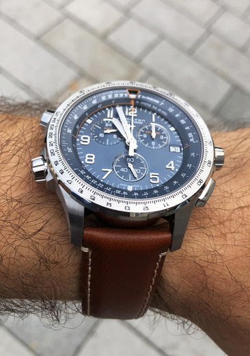 HAMILTON Khaki Aviation X-Wind GMT Chrono H77922541  - 6