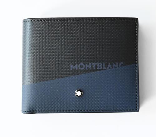 MONTBLANC Etreme 2.0 peněženka 6cc black and blue 128613  - 6