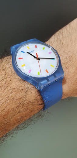 SWATCH hodinky SUON125 COLOR SQUARE  - 6
