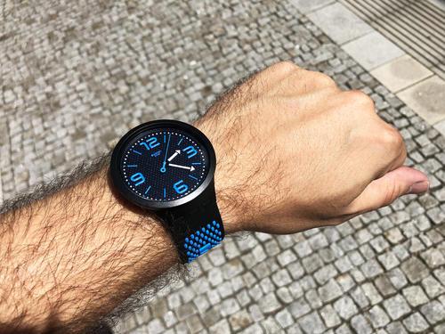 SWATCH hodinky SO27B101 BBBLUE BIG BOLD  - 6