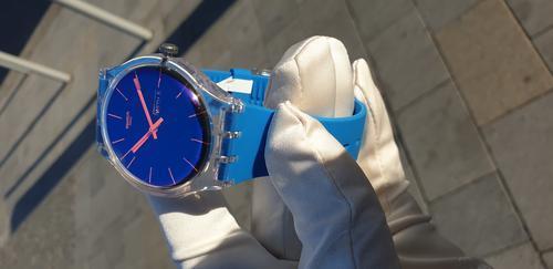 SWATCH hodinky SUOK711 POLABLUE  - 6