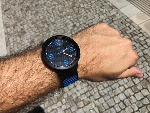 SWATCH hodinky SO27B101 BBBLUE BIG BOLD  - 7