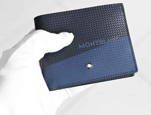 MONTBLANC Etreme 2.0 peněženka 6cc black and blue 128613  - 7