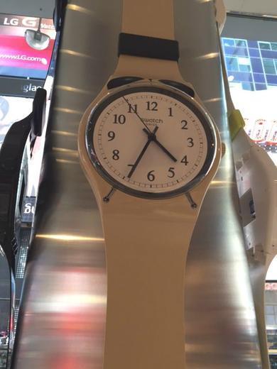 SWATCH nástěnné hodiny MGT105 MAXI SVEGLIA  - 7