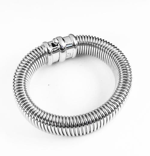 Stříbrná souprava Obojek náhrdelník a náramek 22072021  - 7