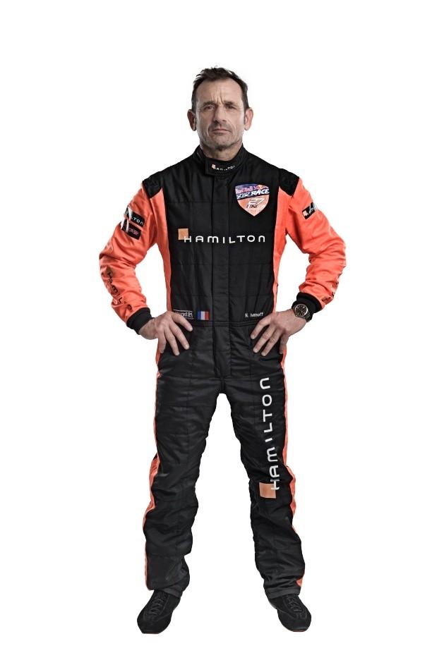 Nicolas Ivanoff, ambasador značky Hamilton a pilot RBAR