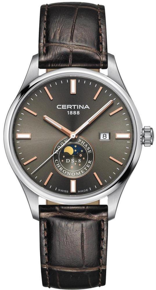 CERTINA DS-8 Moon Phase C033.457.16.081.00 - GoldEligius 0e2c022467