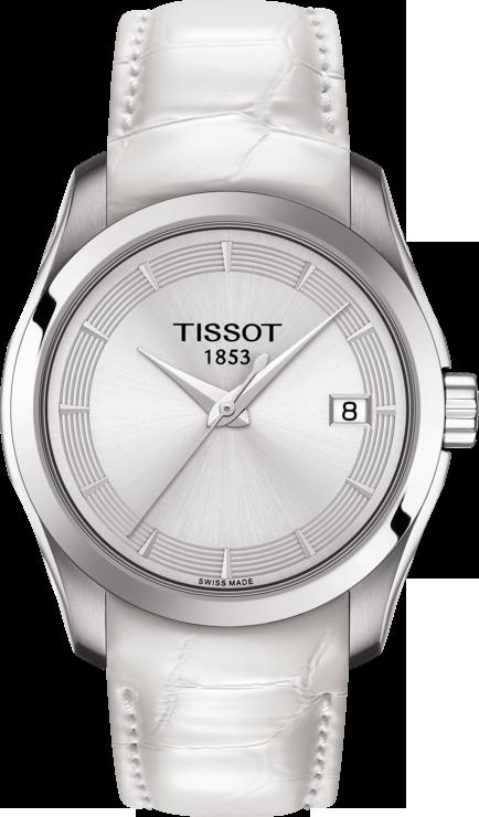 11f648df89 TISSOT COUTURIER Lady T035.210.16.031.00. Oficiální stránky hodinek TISSOT