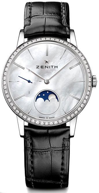 a7b3892f8 ZENITH ELITE LADY MOONPHASE 16.2320.692/80.C714 - GoldEligius