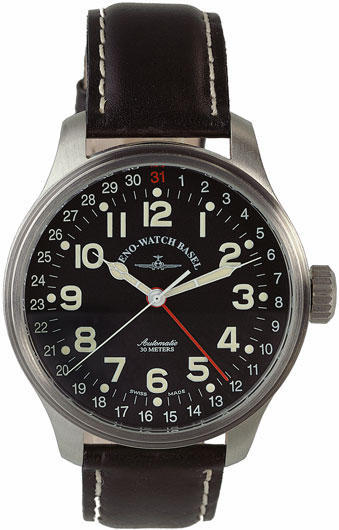Zeno Watch Pilot Oversized Pointer 8554Z-a1 - GoldEligius 11f47bc5ae9